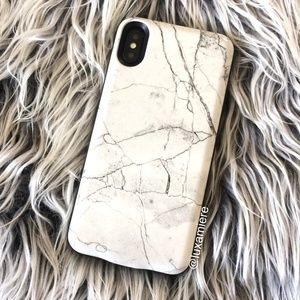 NEW! MARBLE IPHONE BATTERY CHARGING PHONE CASE
